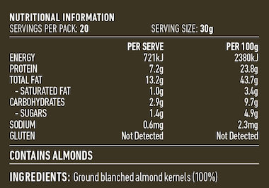 Almond Meal 600g