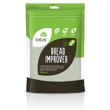 Lotus Bread Improver 250g Kadac Organic Natural Health